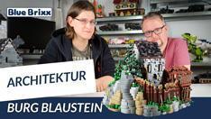 Youtube: Burg Blaustein von BlueBrixx - vorgestellt von ihrem Designer!
