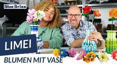 Youtube: Blumen mit Vase von LiMei @ BlueBrixx - und jede Menge Sembo-Blumen!
