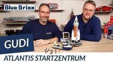 Youtube: Atlantis-Startzentrum von Gudi @ BlueBrixx - ein tolles Raumfahrtset für Kinder!