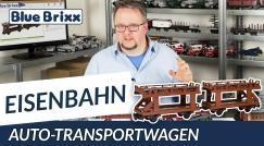 Youtube: Car-carrier wagon by BlueBrixx