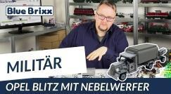 Youtube: Opel Blitz with smoke mortar by BlueBrixx