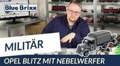 Youtube: Opel Blitz with smoke mortar by BlueBrixx