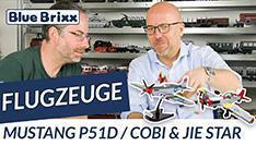 Youtube: Cobi vs. Jie Star - P-51D Mustang @ BlueBrixx