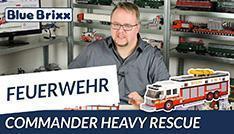 Youtube: Commander Heavy Rescue von BlueBrixx