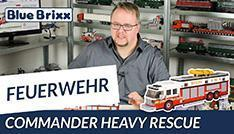 Youtube: Commander Heavy Rescue by BlueBrixx