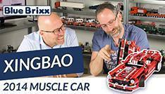 Youtube: 07001 2014 Muscle Car by Xingbao @ BlueBrixx