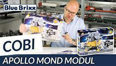 Youtube: 21075 Apollo Lunar Module by Cobi @ BlueBrixx - with speedbuild!