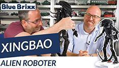 Youtube: 04001 Alien Roboter von Xingbao @ BlueBrixx