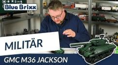 Youtube: GMC M36 Jackson by BlueBrixx