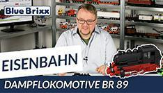 Youtube: Dampflokomotive BR 89 von BlueBrixx