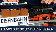 Youtube: Eisenbahn extra: Wie motorisiert man die BR 89 von BlueBrixx?