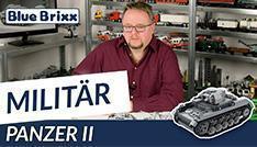 Youtube: Panzer II von BlueBrixx