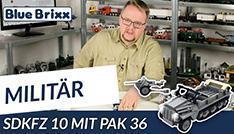 Youtube: SdKfz 10 mit PaK 36 von BlueBrixx