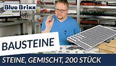 Youtube: Bausteine-Sets von BlueBrixx - 10 Farben, 200 Steine!