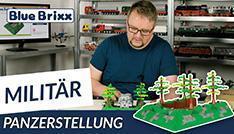 Youtube: Panzerstellung von BlueBrixx