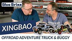 Youtube: Offroad Adventure Buggy & Truck von Xingbao @ BlueBrixx