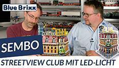Sembo Streetview Club mit LED-Licht @ BlueBrixx