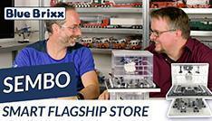 Youtube: Sembo Smart Flagship Store mit LED-Licht @ BlueBrixx