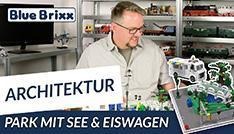 Youtube: Park mit See & Eiswagen von BlueBrixx - mit Outtake!
