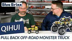 Youtube: Pullback Offroad Monstertruck von Qihui @ BlueBrixx