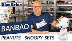 Youtube: Die Peanuts - Snoopy-Sets von BanBao @ BlueBrixx