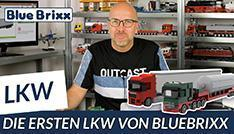 Youtube: Die ersten LKW von BlueBrixx sind da!