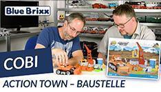 Youtube: Action Town - Baustelle von Cobi @ BlueBrixx