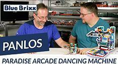 Youtube: Paradise Arcade Dancing Machine von Panlos @ BlueBrixx