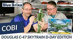 Youtube: Douglas C-47 Skytrain D-Day-Edition von Cobi @ BlueBrixx