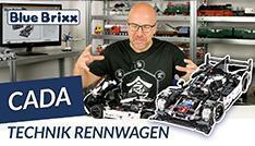 Youtube: Technik-Rennwagen von CaDA @ BlueBrixx