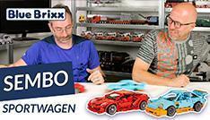 Youtube: Zwei Sportwagen von Sembo @ BlueBrixx