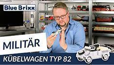 Youtube: Kübelwagen Typ 82 von BlueBrixx