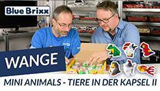 Youtube: Mini Animals - Tiere in der Kapsel von Wange @ BlueBrixx