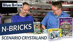 Youtube: Dentalklinik und Kaffeebar von N-Bricks @ BlueBrixx - mit Lichtsteinen!