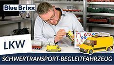 Youtube: Schwertransport-Begleitfahrzeug BF3 von BlueBrixx