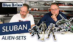 Youtube: 3 Alien-Sets von Sluban @ BlueBrixx