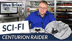 Youtube: Centurion Raider von BlueBrixx - Gefahr im Weltall!