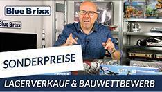 YouTube: Lagerverkauf & Sonderpreise & MOC Wettbewerb @ BlueBrixx