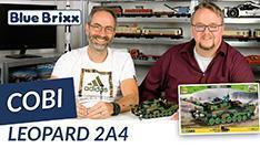 Youtube: Leopard 2A4 von Cobi @ BlueBrixx