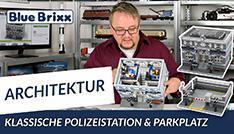 Youtube: Klassische Polizeistation + Parkplatz von BlueBrixx