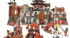 Neu im Shop: Zwei asiatische Burgen mit vielen Soldaten!