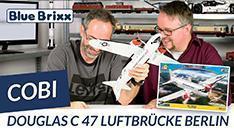 Youtube: Douglas C-47 Luftbrücke Berlin von Cobi @ BlueBrixx