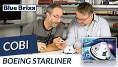 Youtube: Boeing Starliner von Cobi @ BlueBrixx