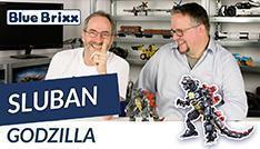 YouTube: Godzilla von Sluban @ BlueBrixx – mit Outtake!