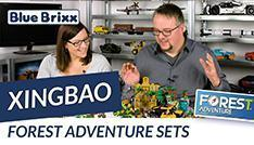 Youtube: Forest-Adventure-Sets von Xingbao @ BlueBrixx - alle 6 Sets im Sale!