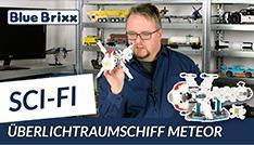 Youtube: Überlichtraumschiff Meteor von BlueBrixx