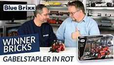 Youtube: Roter Gabelstapler von Winner Bricks @ BlueBrixx