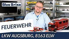 YouTube: Feuerwehrfahrzeug ELW von BlueBrixx