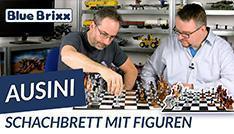 Youtube: Großes Schachbrett mit Figuren von Ausini @ BlueBrixx