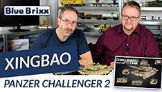 YouTube: Panzer Challenger 2 von Xingbao @ BlueBrixx
